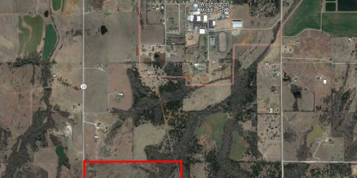80 Acres South of Washington, OK