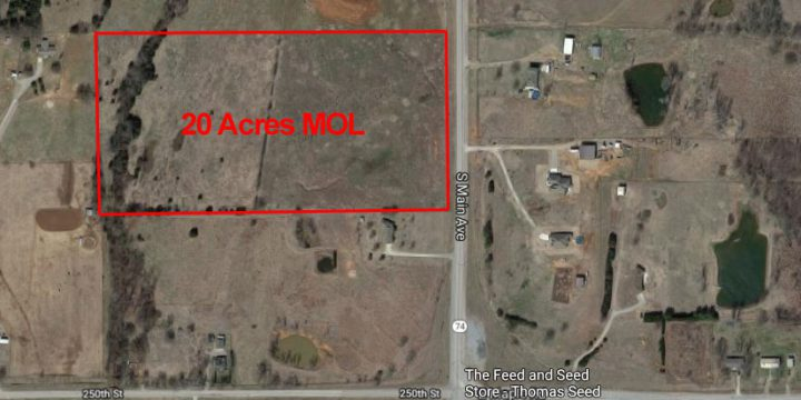 20 Acres in Washington, OK